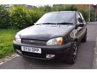 FORD FIESTA 1.2 3DR PETROL (FULL LEATHER SEATS)