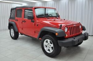 2015 Jeep Wrangler UNLIMITED SPORT TRAIL RATED 4x4 6SPD SUV w/ S