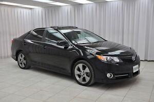 2012 Toyota Camry SE SEDAN w/ BLUETOOTH, HTD LEATHER TRIM SEATS,