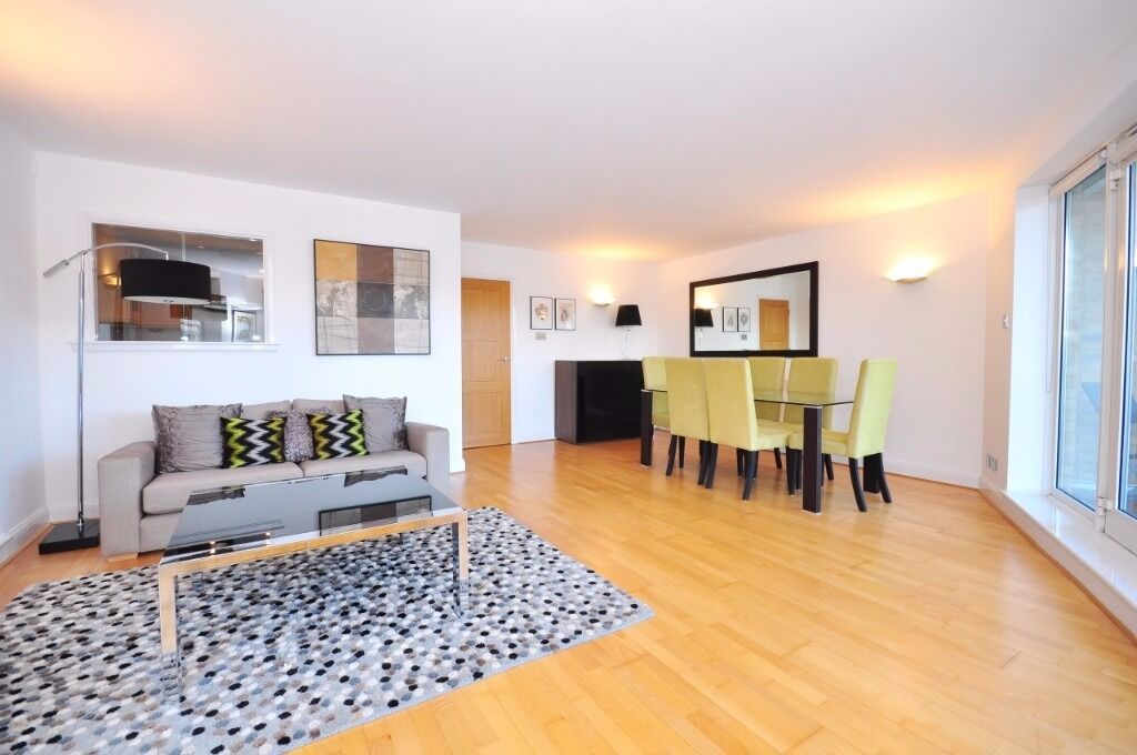 STUNNING 2 BED 2 BATH RIVER FRONT APARTMENT W/ BALCONY & 24 HR CONCIERGE BANKSIDE/LONDON BRIDGE SE1