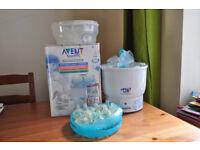 Avent Express Bottle Steam Steriliser (8bottles,19teats etc.)