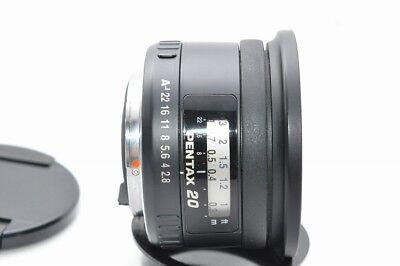 **MINT CLASS**PENTAX Pentax SMCP- FA 20mm f/2.8 Lens+UV filter