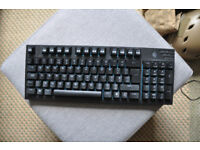 Cooler Master Quickfire TK Gaming Keyboard (Cherry MX Blue)