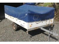 Trailer ex trailer tent by Conway indespension 350kg max plated new tyres