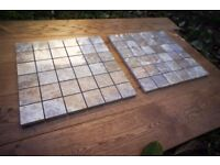Solid Marble Mosaic tiles - 3.81m2 - 41 sheets
