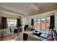 Modern 2 bed 2 bath garden flat near Acton Town