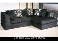 nasdf Brittany Fabric Corner Sofa Settee asd