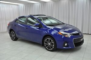 2014 Toyota Corolla SPORT SEDAN w/ BLUETOOTH, HEATED LEATHER, SU