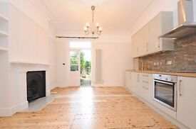 A stunning and incredibly bright two bedroom ground floor period property to let - Byrne Road