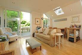A stunning three double bedroom, two bathroom garden flat located on Montholme Road.