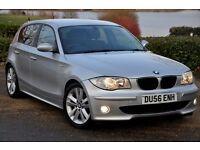 2006 BMW 1 Series 2.0 118d M Sport 5dr+DIESEL+FULL SERVICE HISTORY+6 SPEEDS+LONG MOT+FREE WARRANTY