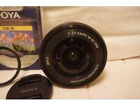 Sony E PZ 16-50mm F3.5-5.6 OSS Lens exelent condition