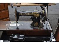 antique singer sewing machine model 15k made in 1906