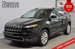 2016 Jeep Cherokee LIMITED**CUIR**4X4**VOLANT CHAUFFANT