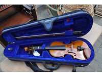 sentor student violin 1/2 sized