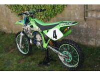 Kawasaki KX 250 Motocross Race Bike 125 CR YZ RM TM 250 KXF YZF CRF RMZ KTM 450 KX250 CR250 YZ250 PX