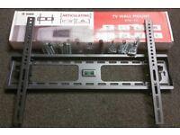 """Slim Tilt Plasma LED LCD TV Wall Mount Bracket LG Panasonic Tilt 37"""" to 70inch.."""