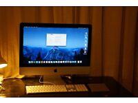 "Apple iMac 21.5"" 2.7 GHz Intel Core i5 8GB 1TB Fusion Drive (1T HDD plus 128G SSD)- Late 2013"