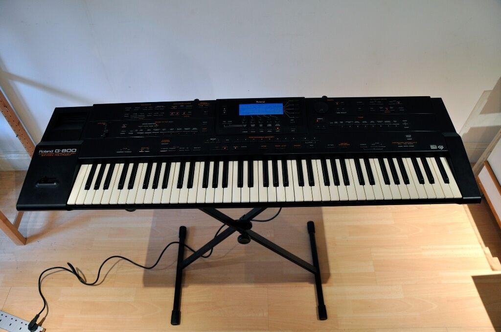 Roland Arranger Workstation Keyboard : roland g 800 professional arranger workstation perfect working order with manual in raynes ~ Hamham.info Haus und Dekorationen