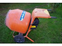 Belle Electric 240 Volt cement mixer for sale