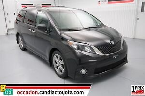 2013 Toyota Sienna SE * 8 PASSAGER * SEULEMENT 80025 KM *