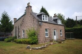 Three Bedroom detatched cottage on the outskirts of Banchory. (unfurnished)