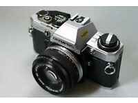 olympus om10 35mm analog film camera student lomo lomography