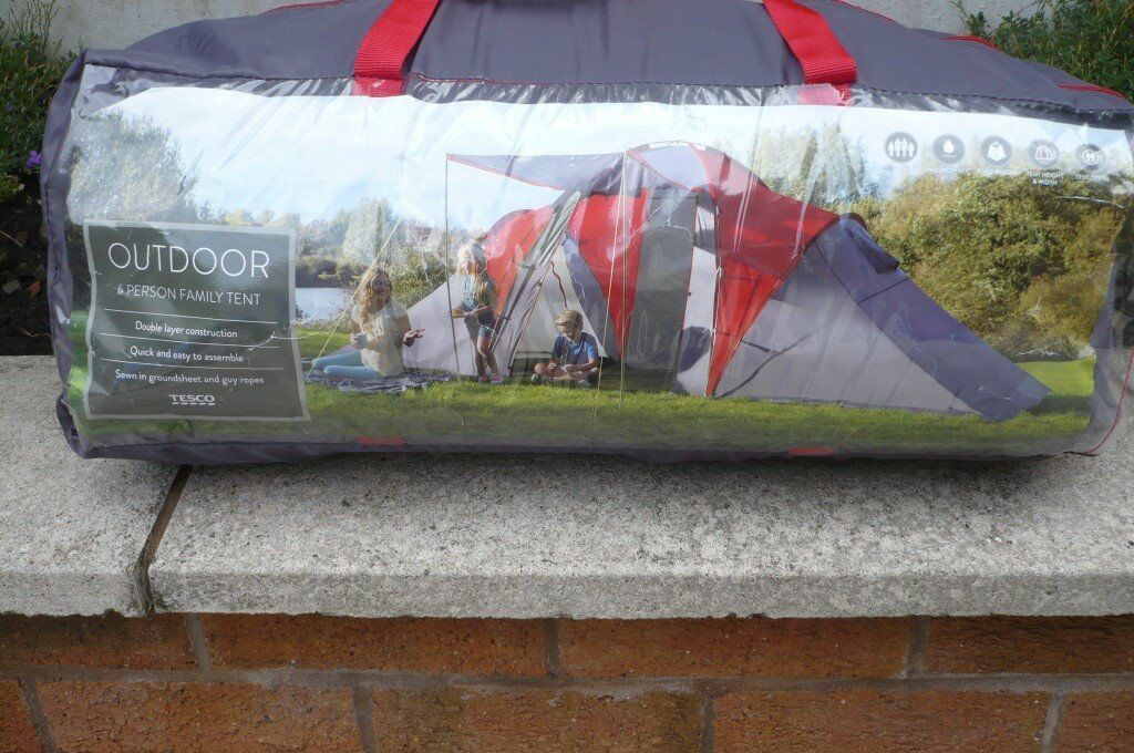Tesco 6 Person Family Tent & Tesco 6 Person Family Tent | in Oldham Manchester | Gumtree