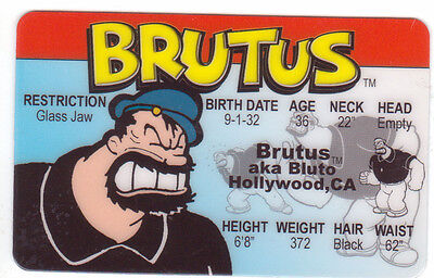 Halloween-kostüm Popeye (foe Brutus aka Bluto aka the Bearded Bully of Popeye fun Halloween Costume gear )