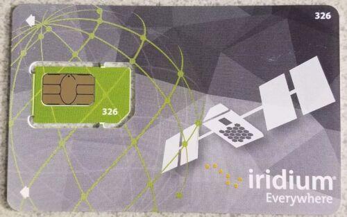 как выглядит SIM-карта для мобильного телефона Iridium Satellite Phone Prepaid SIM Card фото