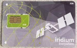 Iridium Satellite Phone Prepaid SIM Card