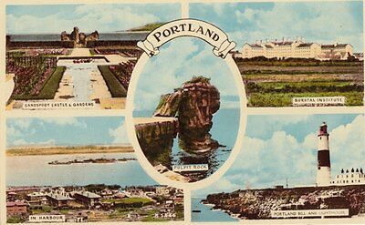 PORTLAND( Dorset) :  Multiview inc Pulpit Rock- H BARTON