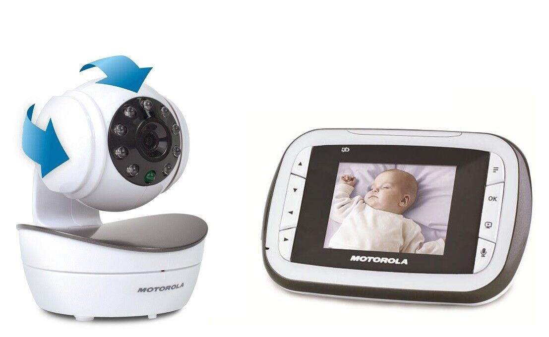 Motorola - Video-Babyphone MBP41 Digital Bewegliche Kamera MBP 41s ! + B-Ware +