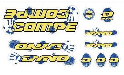 """2/"""" x 1//2/"""" Orange Dyno Transfer Decal Old School BMX"""