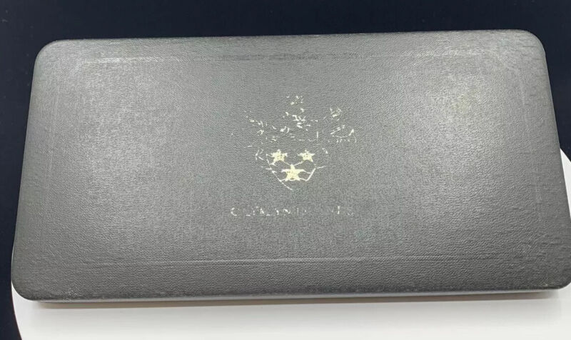 1972 Cayman Island 8 Coin Silver Proof In Box Minted By Royal Canadian Mint