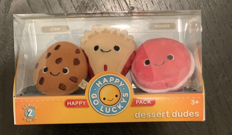 Hallmark Happy Go Luckys happy pack Series 2 Dessert Dudes 5 of 24 NIB