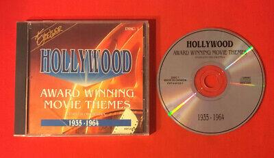 HOLLYWOOD AWARD WINNING MOVIE THEMES 1935 - 1964 TRÈS BON ÉTAT CD