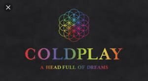 2 Coldplay tickets