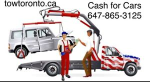 Cash for Cars  647-865-3125 http://towtoronto.ca