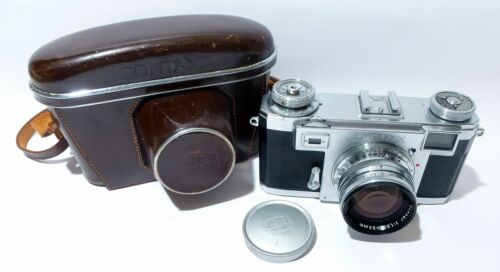 Zeiss Ikon Contax IIa with Color Dial and Sonnar F1.5 Lens