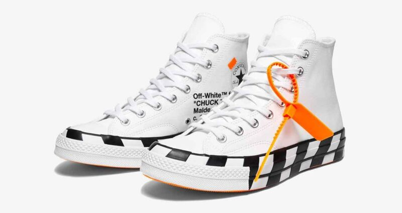 cf6fa2ffba2 DSWT Converse X Off White Chuck Taylor All Star 70 Size 11