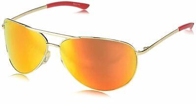 Smith Optics Serpico 2 Sunglasses Gold ChromaPop Sun Mirror Orange Yellow (Smith Optics Serpico Sunglasses)