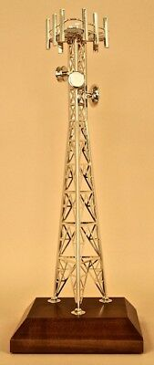 Cell Tower Model Award Gift Safety Cellular Industry Trophy deal toy tower dog