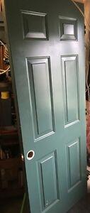 """Metal clad entry door - 32"""" x 80"""""""