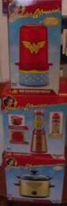Wonder Woman 3 Piece Small Appliance Package - Brand New