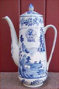 Blue and White Coffee Pot Vietnamese Pottery Airport Hotel VD - France - French- antic Gallery on eBay Blue and White Coffee Pot Vietnamese Pottery Airport Hotel Blue and white coffee pot in vietnamese pottery perhaps Saigon (H-Chi-Minh-Ville) for an airport hotel during the first half of the 20th century. Perfect con - France