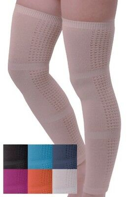 Compression Stockings BEIGE. Socks for Flight, Pregnancy, Varicose veins, Travel