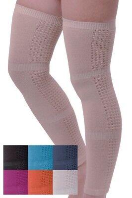 Compression Stockings BROWN. Socks for Flight, Pregnancy, Varicose veins, Travel
