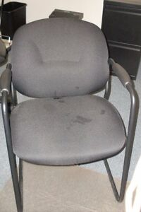4 Used Office Guest Chairs