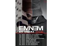 Eminem Revival Tour tickets x4